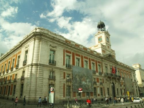 Vista de la sede de la Comunidad de Madrid, en la Puerta del Sol / Adrián Cordero